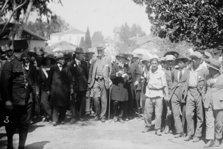 Balfour's letter to British Zionists paved the way for the establishment of Israel [Universal History Archive/Getty Images]