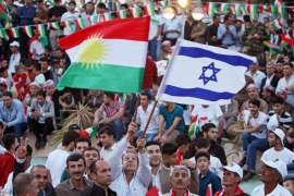 The provocative photos and footage of Israeli flags in Erbil and Kirkuk, as painful as they are to us, should not lead to the isolation or demonisation of the Kurds, writes Andoni [Reuters]