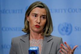 The EU's top diplomat said the Iran deal 'is not a bilateral agreement'. [File: Eduardo Munoz/Reuters]