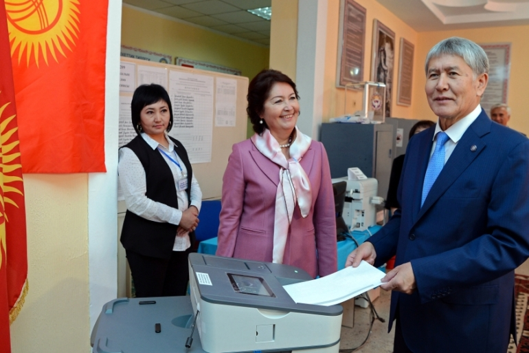 Outgoing President Almazbek Atambayev cannot seek a second term under the country's constitution [Reuters]