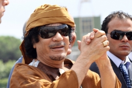 Gaddafi was shot dead by rebels while trying to flee his stronghold of Sirte [File:Ernesto Ruscio/Getty Images]