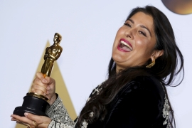 Sharmeen Obaid-Chinoy an Oscar for her documentary, A Girl in the River: The Price of Forgiveness in 2016 [Reuters/Mike Blake]