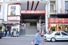 Cinema Lutetia has struggled to stay open in Casablanca as ticket sales have dwindled [Nadir Bouhmouch/Al Jazeera]