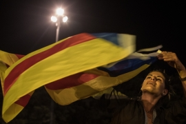 'Yes' wins Catalonia independence vote marred by chaos
