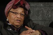President Ellen Johnson Sirleaf, the continent's first female president, is stepping down after serving two six-year terms in office - the constitutionally mandated limit [Reuters]