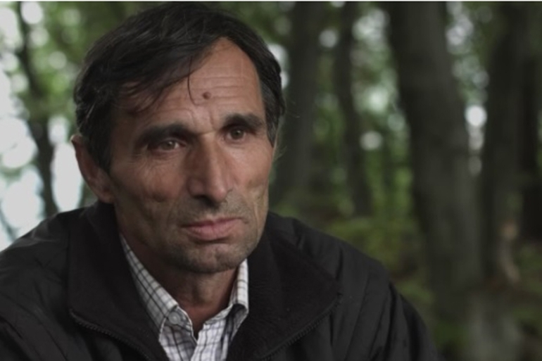 Ramiz Nukic survived the Srebrenica genocide and now searches for the bones of those who didn't [Jasmina Djikoli/Al Jazeera]
