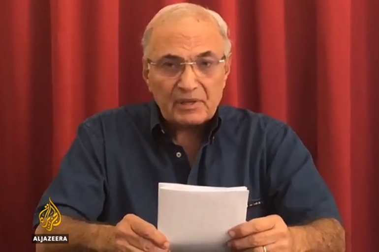 On Wednesday, Ahmed Shafik announced in a video message he plans to run in the 2018 Egyptian presidential elections [Al Jazeera]