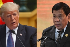 US President Donald Trump will meet Philippines President Rodrigo Duterte on November 13 [AP]