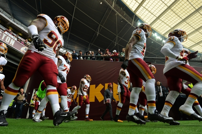 Snyder has said Washington 'will never change the name of the team' [Dan Mullan/Getty Images]