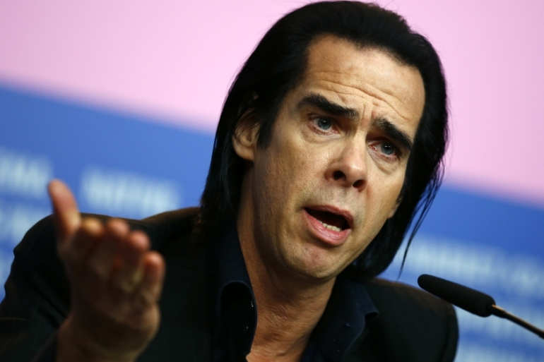 Nick Cave is scheduled to perform in Israel on November 19 and 20 at the Menorah Arena in Tel Aviv [Reuters/Thomas Peter]