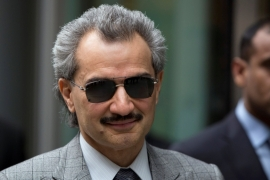 Prince Alwaleed Bin Talal, owner of investment firm Kingdom Holding, is among those reportedly held [Neil Hall/Reuters]