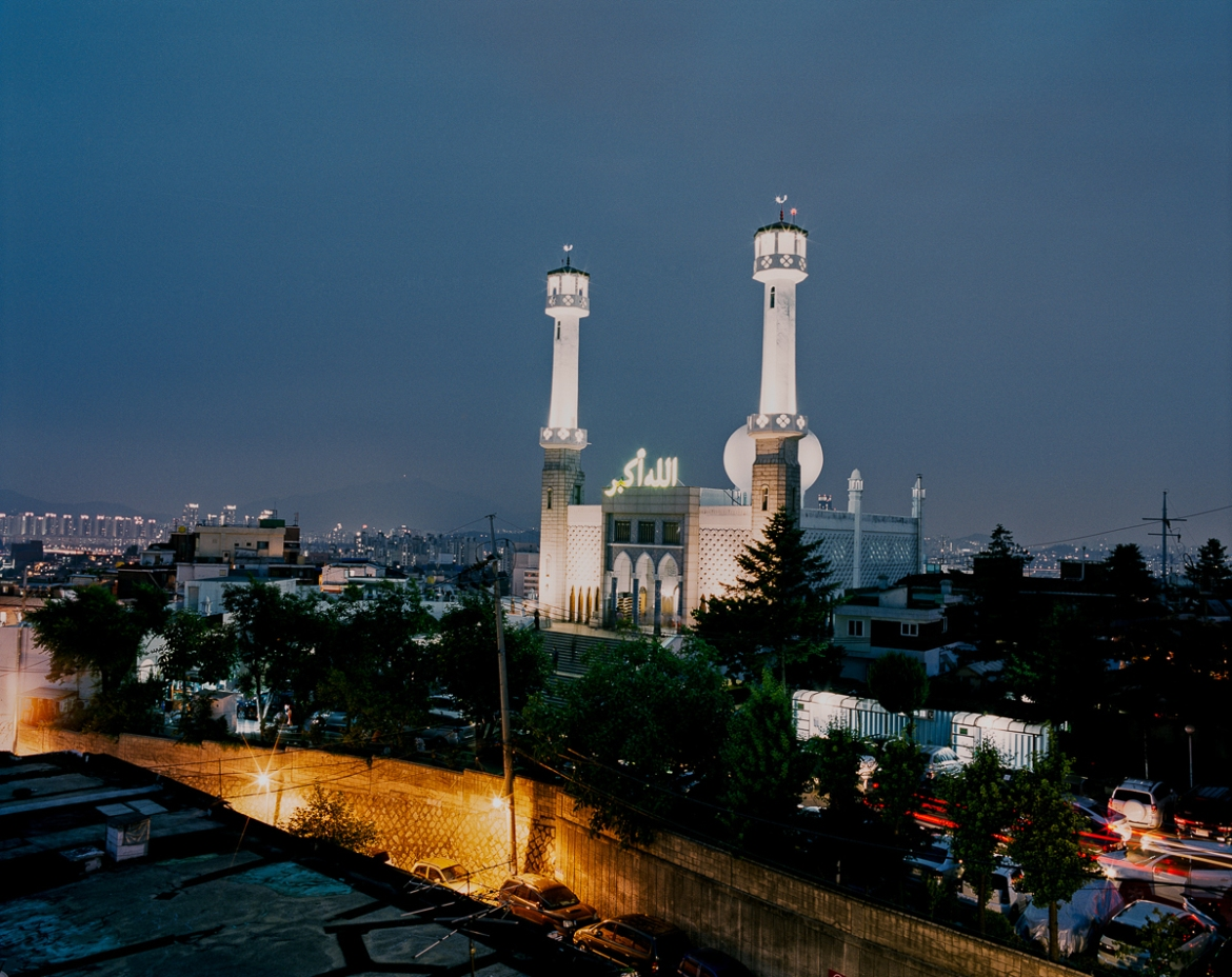 Built in Seoul's Itaewon neighbourhood, the Seoul Central Masjid opened on May 21st, 1976. [Radu Diaconu/Al Jazeera]