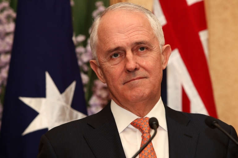Australia PM Malcolm Turnbull [Lisa Maree Williams/Getty Images]