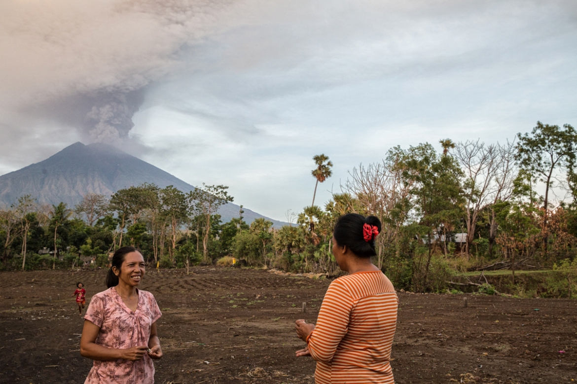 In 1963, an eruption of Agung killed more than 1,000 people and razed several villages by hurling out pyroclastic material, hot ash, lava and lahar. [Putu Sayoga/Al Jazeera]