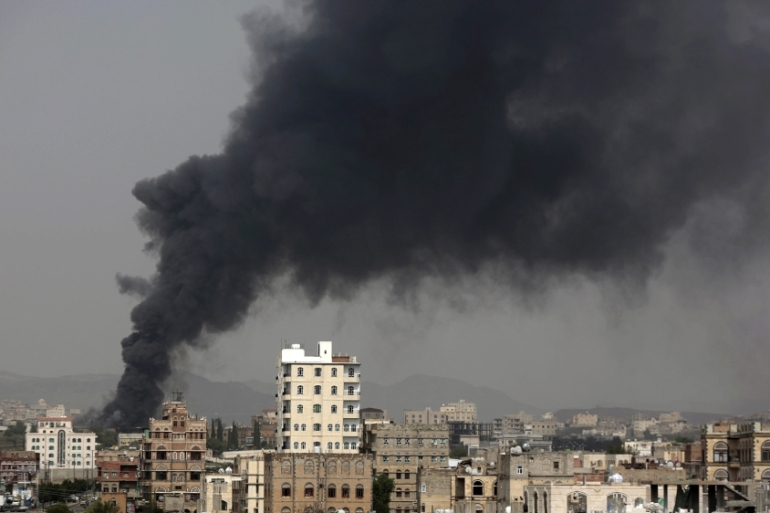At least 10,000 people have been killed in the Yemen conflict, and millions are in dire need of food assistance [File: The Associated Press]