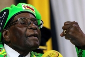 Zimbabwean President Robert Mugabe defied expectations on November 19 and did not announce his resignation [Reuters/Philimon Bulawayo]