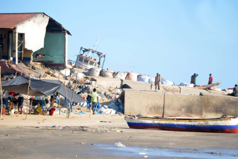 Beira: Mozambiques second largest city is sinking