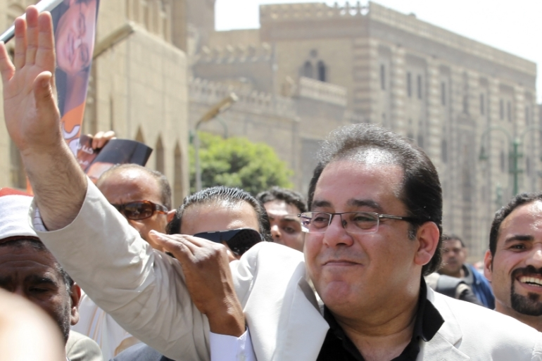 Ayman Nour took part in the 2012 Egyptian elections [File: Reuters]