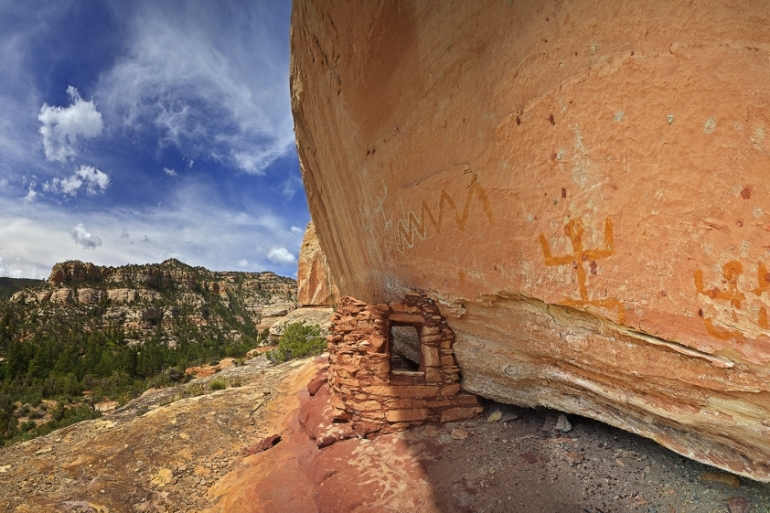 The Bears Ears National Monument is home to thousands of ancient cultural artifacts [Courtesy Bears Ears Coalition]