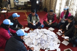 The election lays the groundwork for Nepal's transition to a democracy [File: Prakash Mathema/AFP]