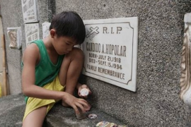 Philippines: Living with the dead