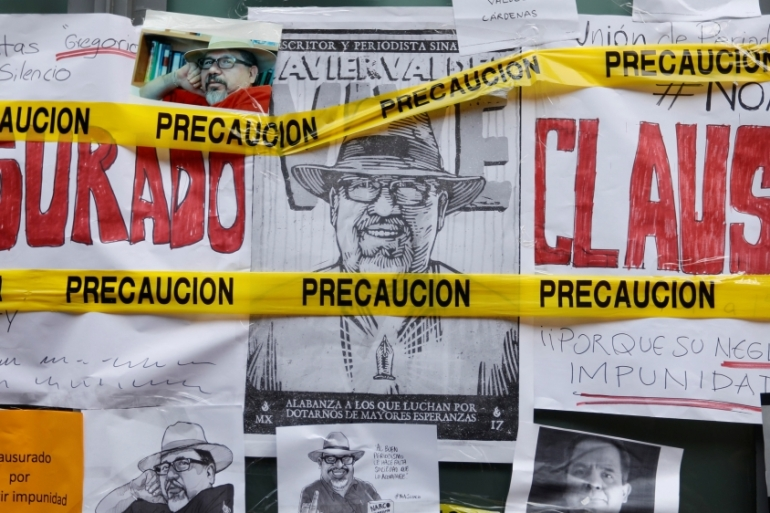 Since 2000, more than 100 reporters have been killed in Mexico [Edgard Garrido/Reuters]