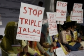 Triple Talaq bill could be a stepping stone towards a more comprehensive codification of gender-just Muslim family law reform in India, writrs Salim. [AP Photo/Altaf Qadri]