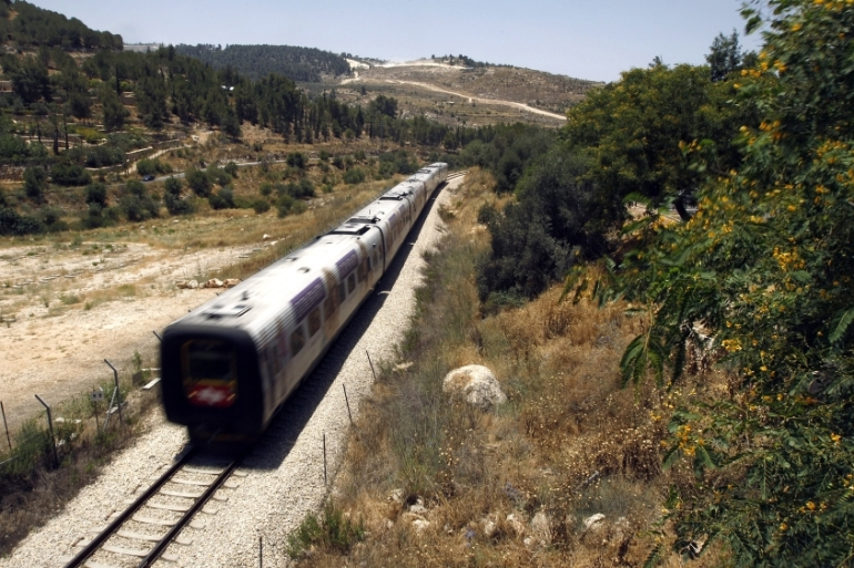 Israel makes plans to resurrect a once busy train line linking the heartland of the Arabian peninsula to the port of Haifa on the Mediterranean. [Reuters/Ronen Zvulun]