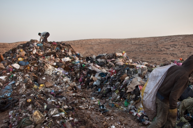'While Israel increases the amount of waste it creates, it diverts the risks and pollutants onto the Palestinian environment and land' [File: Getty Images]