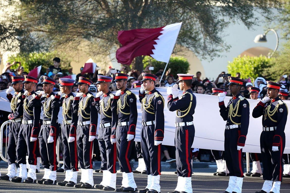 Qatar has marked National Day day since 2007, following a decree by the then Crown Prince and current Emir Sheikh Tamim bin Hamad Al Thani. [Showkat Shafi/Al Jazeera]