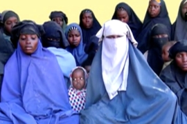A still image taken from the undated Boko Haram video [Sahara Reporters via Reuters]