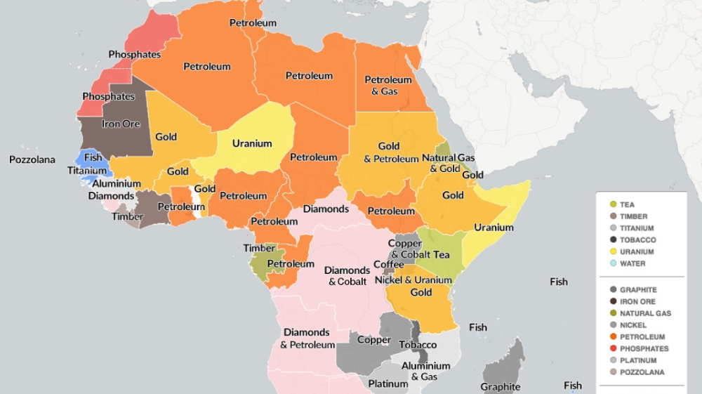 Resource Map Of Africa Mapping Africa's natural resources | Infographic News | Al Jazeera