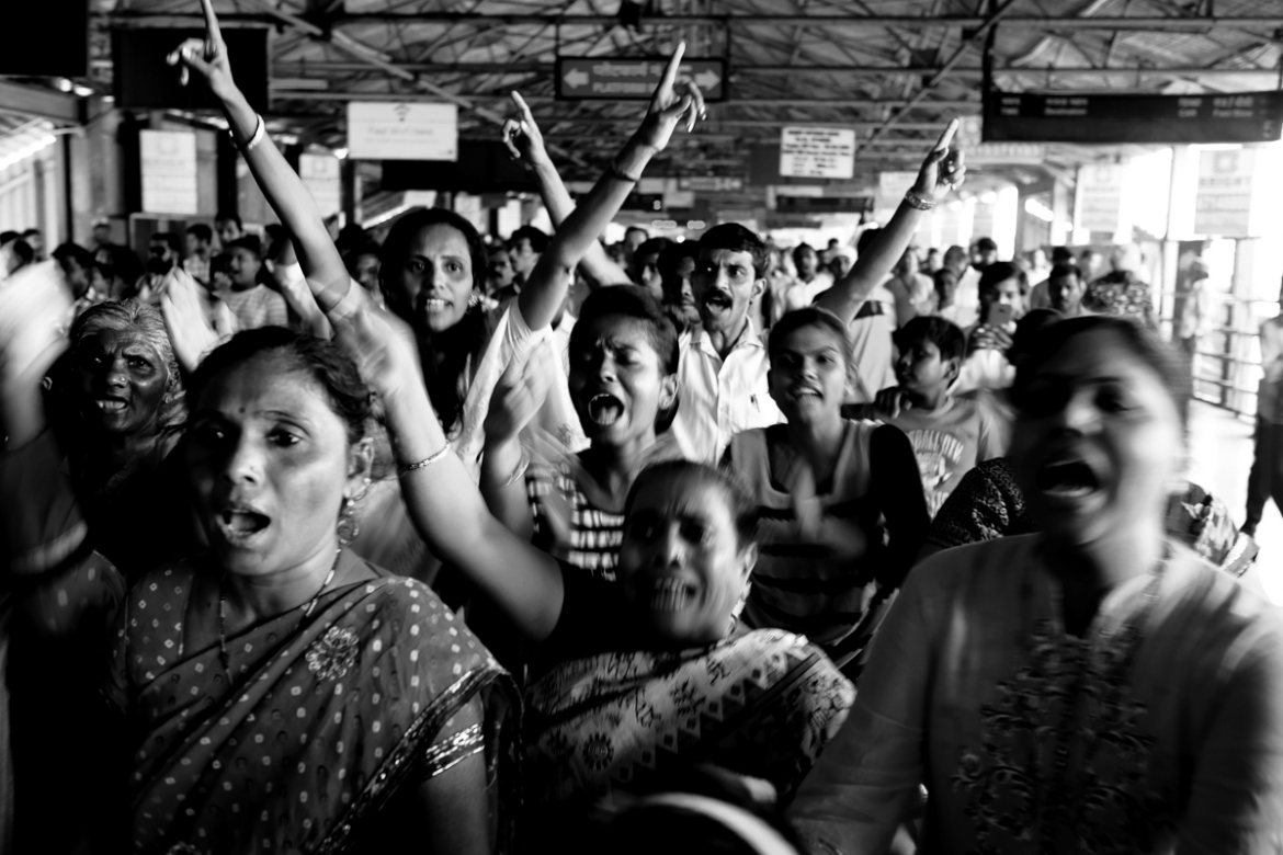 The Ambedkarite movement has a strong undercurrent of gender justice and often sees a lot of women in the forefront of the struggle against the caste system itself. [Hari Adivarekar/Al Jazeera]