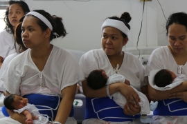 Hundreds of thousands of girls in the Philippines give birth when they're just teenagers [Al Jazeera]
