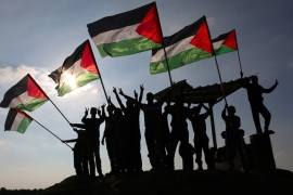 The Palestinians insist the conflict will not be resolved until they realise their aspirations for independence. [Said Khatib/AFP]