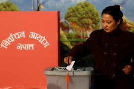 Nearly 70 percent of eligible Nepali voters took part in last month's historic elections [Navesh Chitrakar/Reuters]