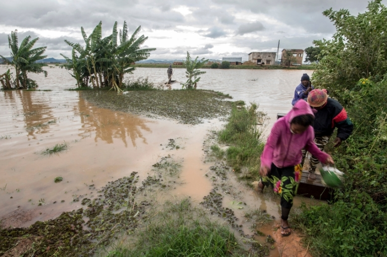 Last year Enawo, the strongest cyclone to hit the island in 13 year, killed at least 80 people in Madagascar [File: Alexander Joe/AP]