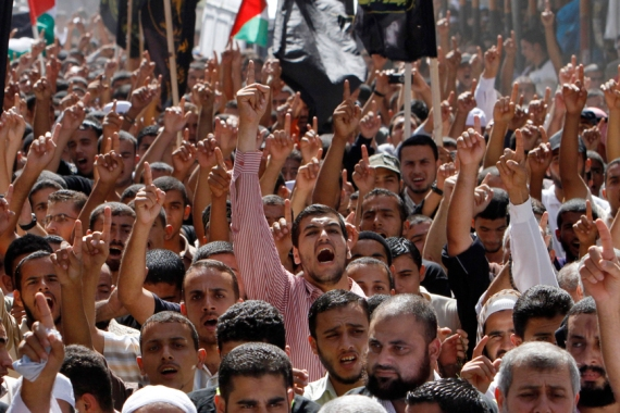 About 40 percent of Palestine's male population has been imprisoned by Israel since 1967 [File: Adel Hana/AP]
