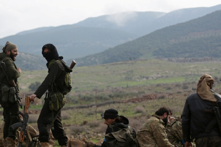 Turkey and the Free Syrian Army last month launched an operation into Afrin to 'neutralise' Kurdish fighters [Reuters]