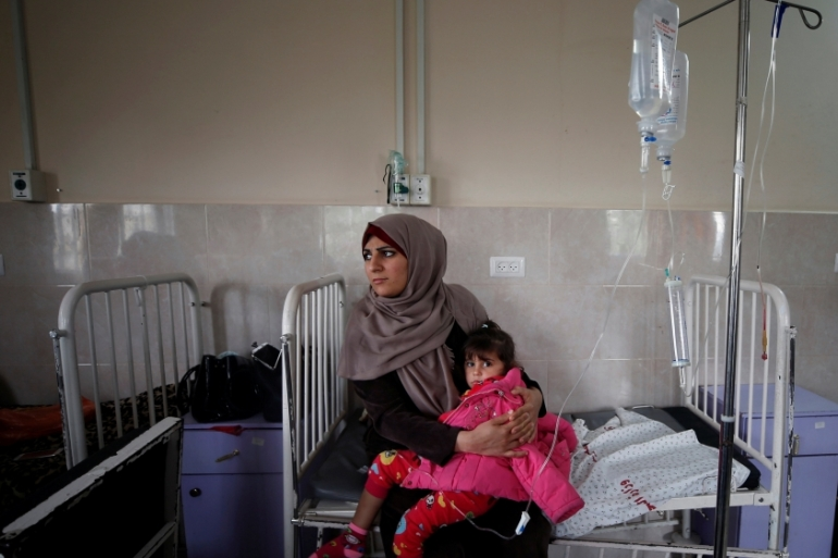 Reportedly 1,000 Palestinians have died as a result of the ongoing Israeli blockade on the coastal enclave [Reuters]