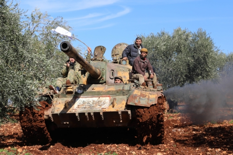 Turkey launched in January an air and ground operation into Afrin against the Kurdish fighters there [AFP]