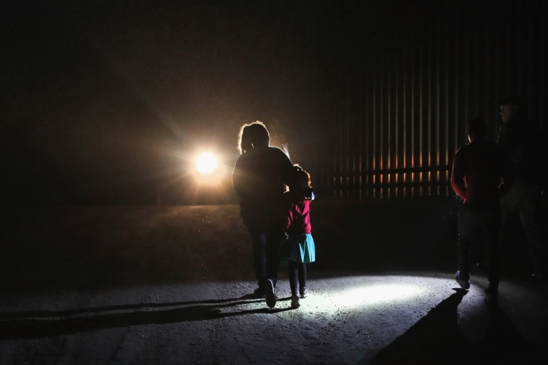 Trump administration is reportedly considering detaining parents separately from their children to deter undocumented immigration [File: John Moore/AFP]