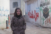 Mays Abu Ghosh, a journalism student, was arrested by Israeli forces at her home in Qalandia refugee camp in the occupied West Bank [File: Shatha Hammad/Al Jazeera]