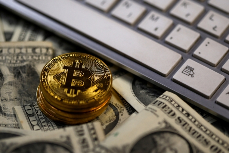 Bitcoin, a cryptocurrency based on blockchain [Reuters]