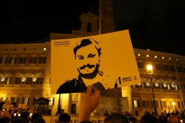 Italian student Giulio Regeni was found murdered in the outskirts of Cairo in 2016 [File photo: Reuters/Alessandro Bianchi]