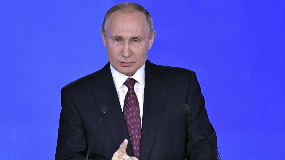 Russian Elections Who Is Running Against Vladimir Putin Russia News Al Jazeera