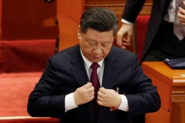 Xi currently appears to enjoy unrivalled political power and authority in China, but he has several vulnerabilities, writes Kewalramani [Reuters]