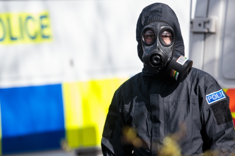 Former Russian intelligence officer Sergei Skripal and his daughter were poisoned with the nerve agent Novichok [Jack Taylor/Getty Images]