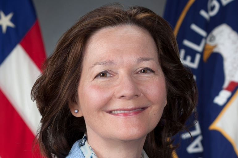 The CIA's first female director, Gina Haspel, moves to align intelligence collection with the US foreign policy [Reuters]