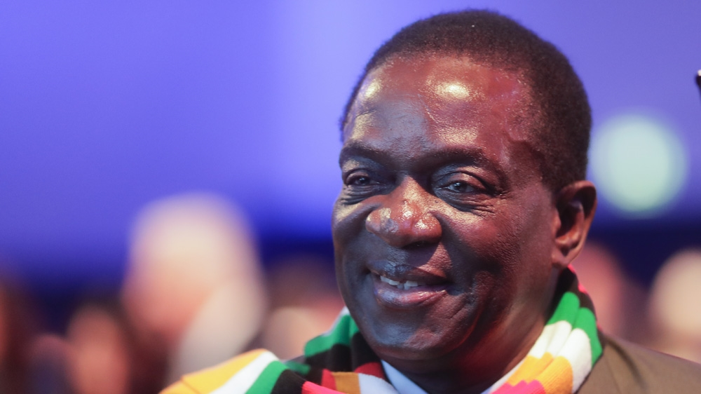Emmerson Mnangagwa took power in November 2017 [File: Markus Schreiber/The Associated Press]